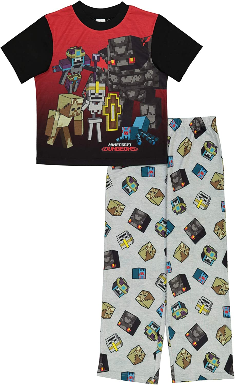 Minecraft gift Superlatite Boys' Set Pajama