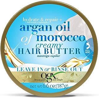 Leave In Ogx Argan Oil Of Morocco Manteiga Capilar 187g