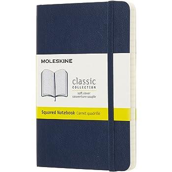モレスキン ノート クラシック ノートブック ソフトカバー スクエアード(方眼) ポケットサイズ サファイアブルー QP612B20
