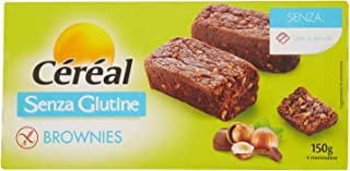 Céréal Brownies senza Glutine Merendine Dolci, 150g