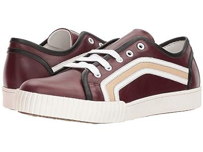 MARNI Side Stripe Sneaker (Wine) Men