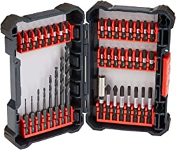 Bosch 40 Piece Impact Tough Drill Driver Custom Case System Set DDMS40