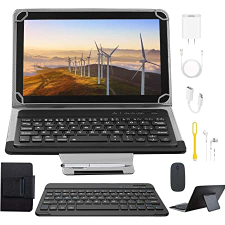 Tablets 10.1 Pulgadas Full HD, Android 9.0 WiFi/4G/OTG, 4GB RAM + 64GB ROM, Quad-Core 8MP Cámara Tablet PC 8000mAh Batería Moviles Baratos y Buenos o ...
