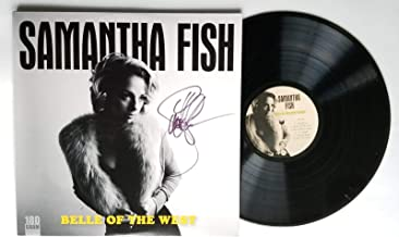 Samantha Fish REAL hand SIGNED Belle Of The West Vinyl #1 COA Autographed