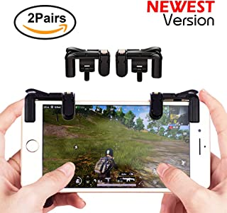 Mobile Game Controller Sensitive Shoot and Aim Keys Button L1R1 Shooter Controller for PUBG / Knives Out / Rules of Surviv...