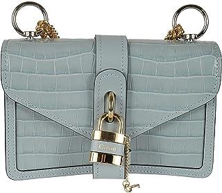 Luxury Fashion   Chloé Womens CHC19WS206A8744L Light Blue Shoulder Bag   Spring Summer 20