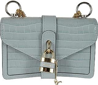 Luxury Fashion | Chloé Womens CHC19WS206A8744L Light Blue Shoulder Bag | Spring Summer 20