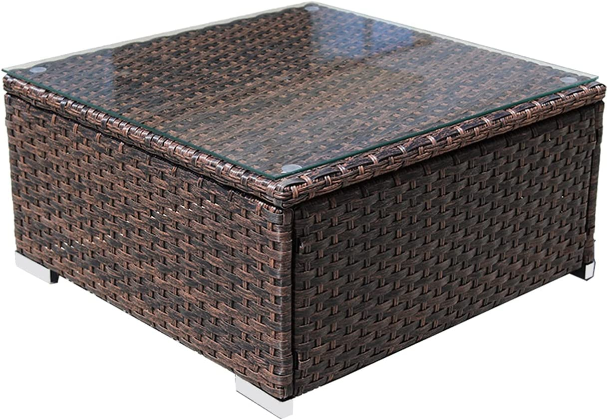 DIMAR GARDEN Outdoor Coffee Table Wicker Patio Furniture Convers Japan Maker Clearance SALE! Limited time! New