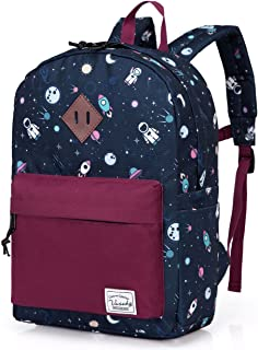 Backpack for Boys,Vaschy Preschool Toddler Backpack Little Kids Backpacks for Nursery School Children Girls with Chest Strap in Cute Astronaut.