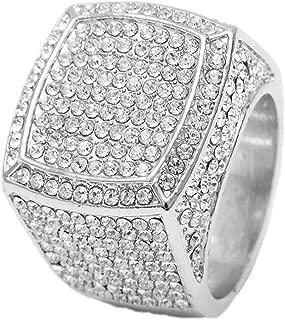 Bling Bling Hip Hop Iced Out Luxury Men's Ring - 444S