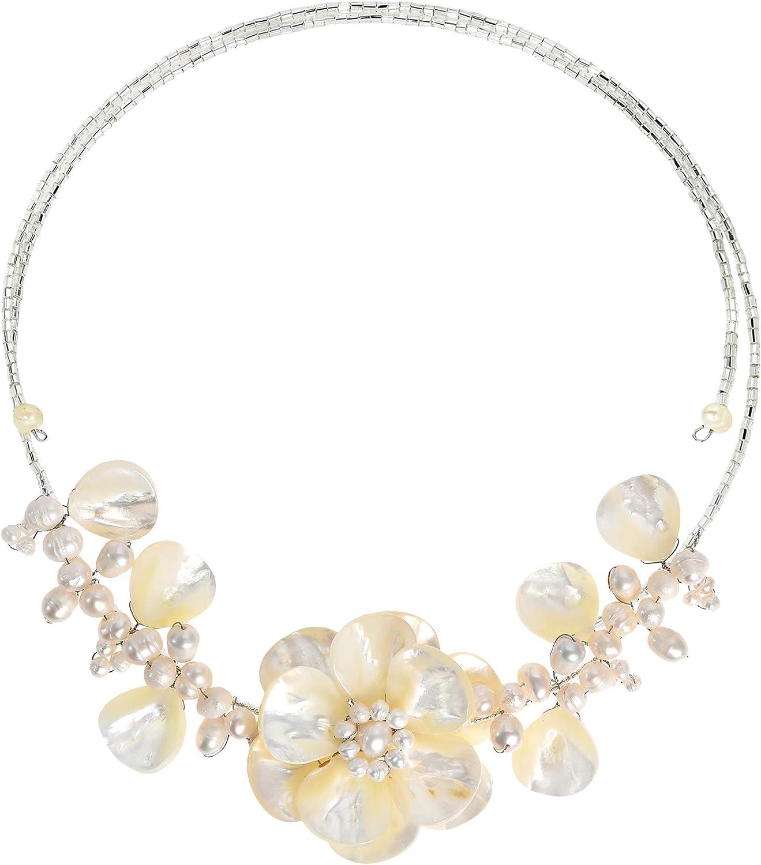 AeraVida Free shipping on posting reviews Mother Indianapolis Mall of Pearl-Cultured Beading Pearls-Fashion FW Saku