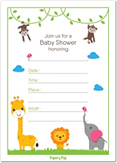 safari baby animal templates