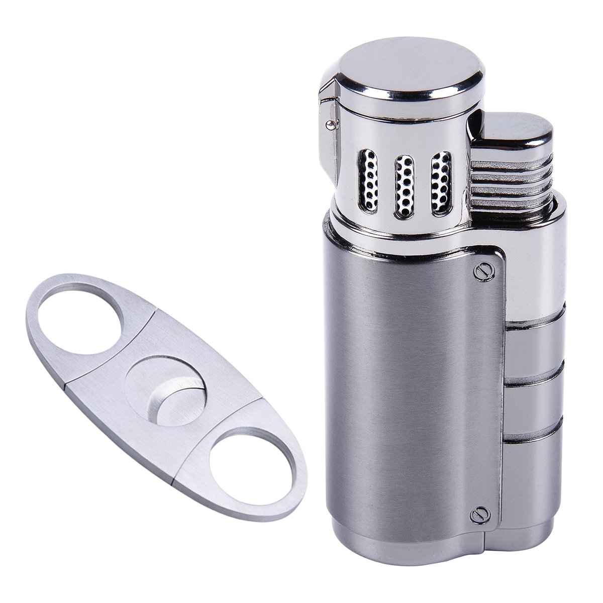 Cigarette Lighter Triple Butane Cutter