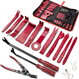19Pcs Trim Removal Tool,Car Panel Door Audio Trim Removal Tool Kit, Auto Clip Pliers Fastener...
