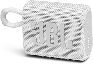 JBL GO3 Bluetoothスピーカー USB C充電/IP67防塵防水/パッシブラジエーター搭載/ポータブル/2020年モデル ホワイト JBLGO3WHT 【国内正規品/メーカー1年保証付き】