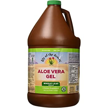 Lily Of The Desert Aloe Vera Gel Whole Leaf, 128 Fluid Ounce