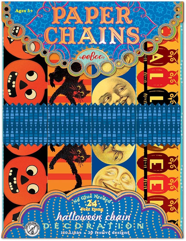 saludable EeBoo Halloween Paper Paper Paper Chain by eeBoo  Todos los productos obtienen hasta un 34% de descuento.