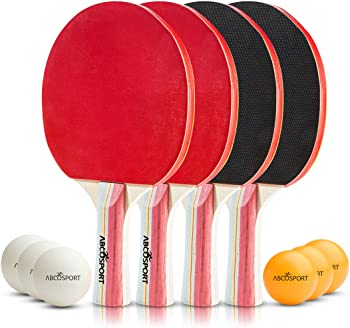 4-Pack Table Tennis Ping Pong Set