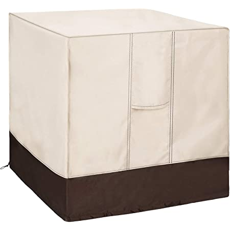 Amazon Com Classic Accessories Veranda Water Resistant 34 Inch Square Air Conditioner Cover Garden Outdoor