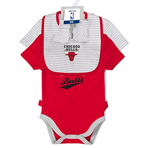 online retailer 7339c 38c8d Chicago Bulls Baby Clothes: Amazon.com