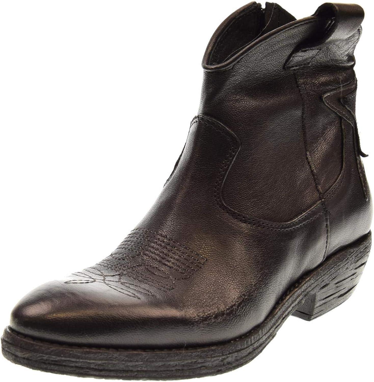 ERMAN'S Damenschuhe West schwarz schwarz Texan Stiefel  Fabrikverkauf