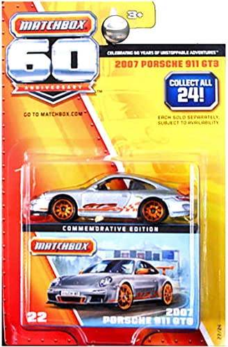 tienda en linea 2007 PORSCHE 911 GT3  MATCHBOX 60TH ANNIVERSARY  2013 2013 2013 Commemorative Edition Vehicle  22 of 24 by Matchbox  alta calidad y envío rápido