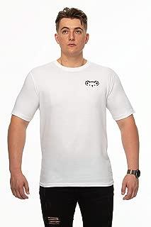 Tipsy Koala Men's Solid Logo Print Cotton T Shirt