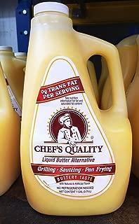 Chef's Quality: Liquid Butter Alternative 1 Gallon (2 Pack)
