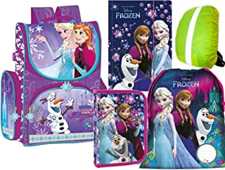 Disney Frozen Eiskönigin 2 STÜCK Sammelmappe Dokumententasche A4 mit Druckknopf