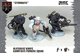 Battlefront Miniatures Dust Tactics: Axis Blutkreuz Pioniere Squad Sturmaffe