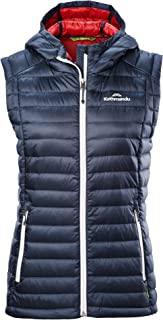 Kathmandu Heli Hooded Lightweight Water-Repellent Warm Womens Down Vest v3 Women's