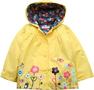 Girl Baby Kid Waterproof Hooded Coat Jacket Outwear Raincoat Hoodies