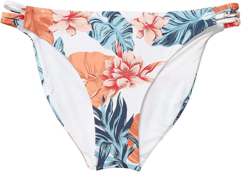 Roxy Women's Printed 2021 autumn and winter Max 45% OFF new Beach Bottom Bikini Classics Full