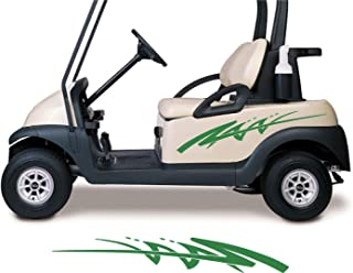 Golf Cart Decals Side by Side Go Kart Stickers Auto Truck Racing Graphics GC100