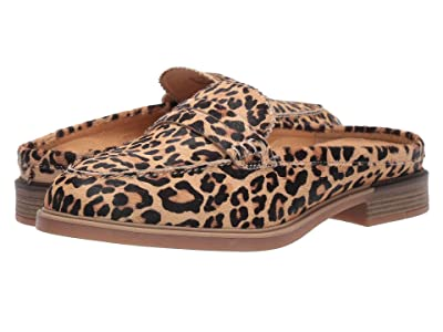 Hush Puppies Bailey Penny Mule (Leopard Haircalf) Women