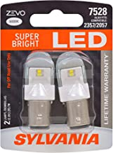 SYLVANIA - 7528 ZEVO LED White Bulb - Bright LED Bulb, Ideal for Daytime Running Lights (DRL) and Back-Up/Reverse Lights (Contains 2 Bulbs)