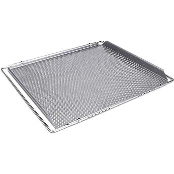 Städter We Love Baking Backblech, Metall, Silber, 40 x 35 cm