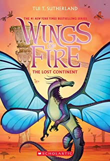 The Lost Continent (Wings of Fire, Book 11), Volume 11