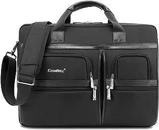 """CoolBELL 15.6 Inch Laptop Bag Briefcase Protective Messenger Bag Shoulder Bag for Laptop/Ultrabook/Tablet/Men/Women/Business (15.6"""")"""