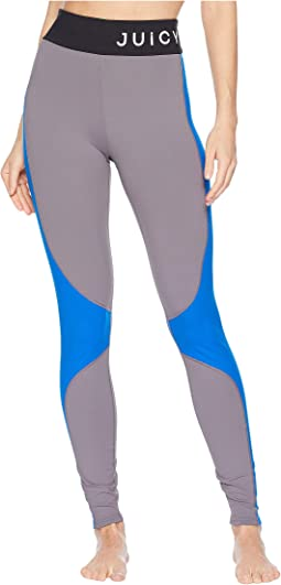 High-Waist Color Block Leggings
