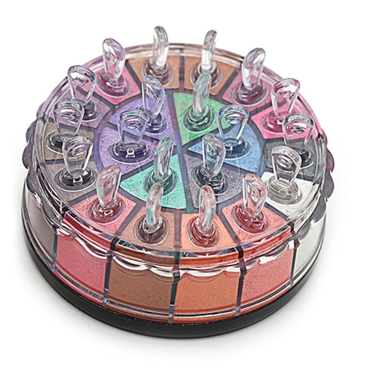 果てしないかんたんバンケットアイシャドー アイシャドウパ おしゃれ 光沢 20色 アイシャドウ キラキラ 欧米風 ハイライト シェーディング パーティー コスプレ 日常 (タイプーB)