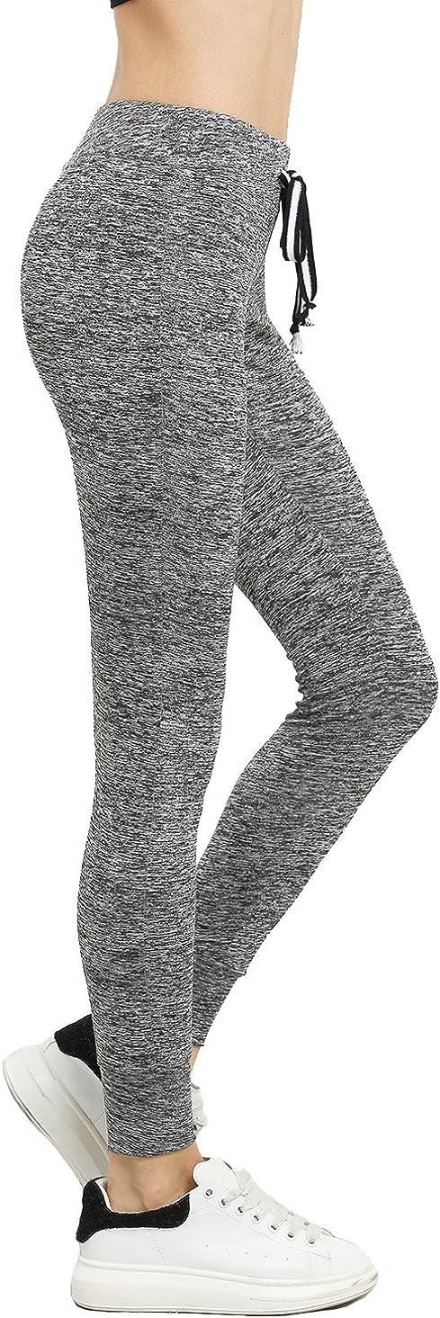 SweatyRocks Women's Drawstring Waist Long Workout Yoga Legging Active Pant