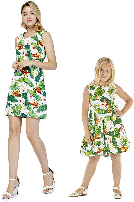 Trust Matching Hawaiian low-pricing Luau Mother Daughter Flamingo Lo in Dresses