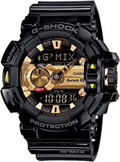 Casio Mens Quartz Watch, Analog-Digital Display and Resin Strap