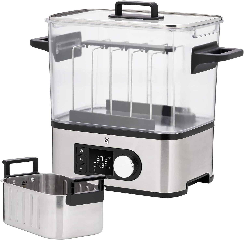 WMF Lono Sous Vide - Máquina de cocción a baja temperatura (entre 35º y 90º), cocina al vacío, cocina profesional, tanque 6 l de TRITAN libre de BPA