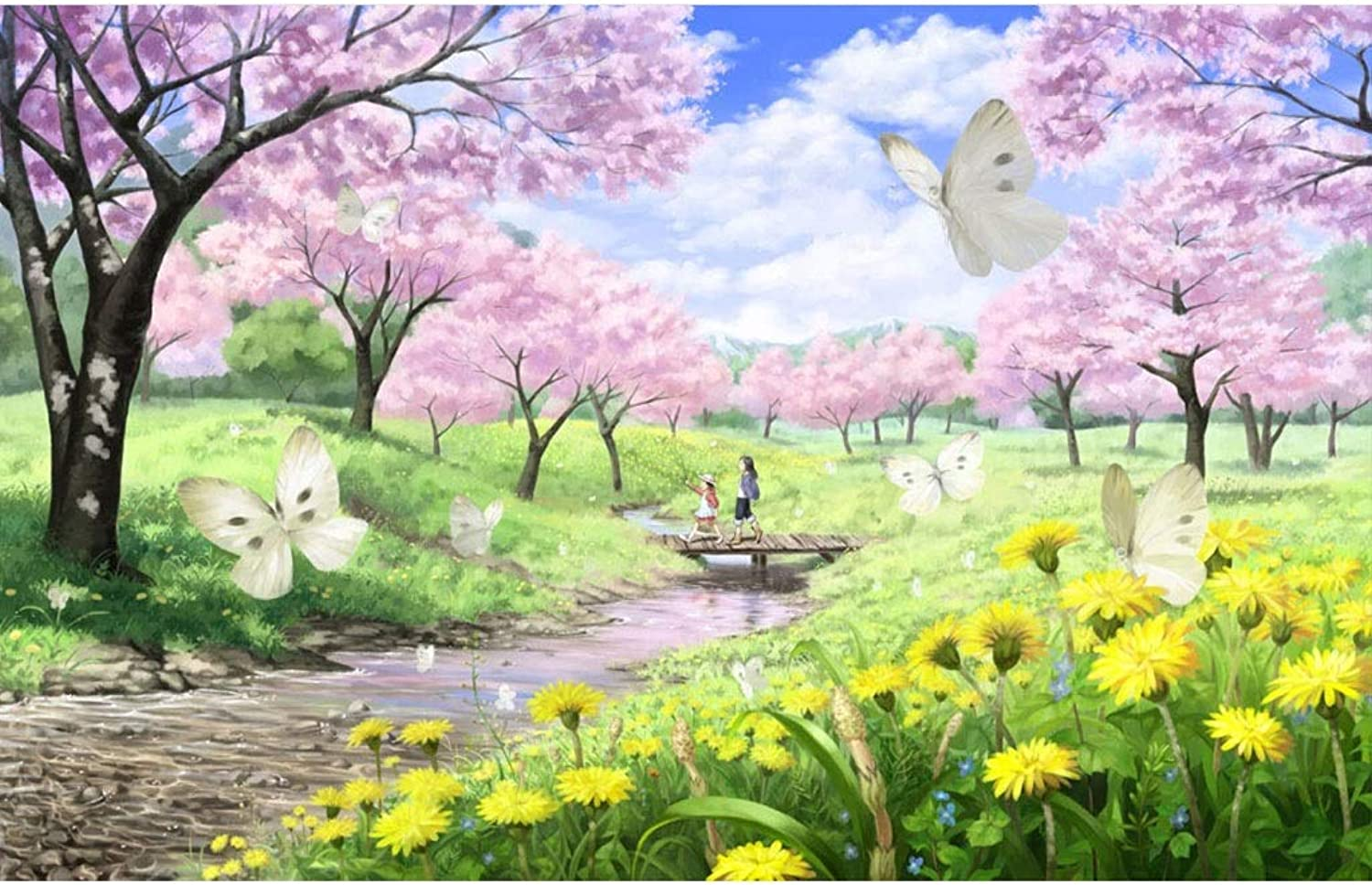 Puzzle House Basswood Jigsaw Puzzle of Japanese Comic Painting Art 500 1000 1500 Pieces Boxed Puzzles Game Toys for Adults & Kids,Decorative Painting 409 ( color   A , Size   500pc )