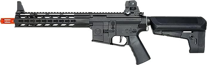 KRYTAC Trident MK2 CRB: AEG / Black / 6mm Airsoft Gun / Rifle (Black)