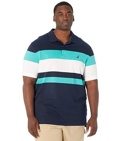 Nautica Big & Tall Big Tall Classic Fit Striped Polo