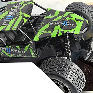 Starabu High Spped RC Cars 2.4GHz 1:18 RC Car RTR Shock Absorber PVC Shell Off-Road Race Vehicle Buggy Electronic Remote Control Car Toy 2815绿色