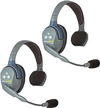$385 » Eartec UL2S UltraLITE Full Duplex Wireless Headset Communication for 2 Users - 2 Single Ear Headsets